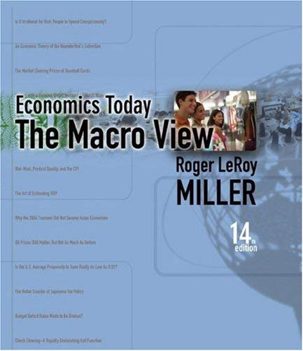 Student Value Edition for Economics Today: The Macro Viewplus Myeconlab in Coursecompass Plus eBook Student Access Kit 9780321484208