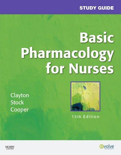 Study Guide for Basic Pharmacology for Nurses 9780323057790