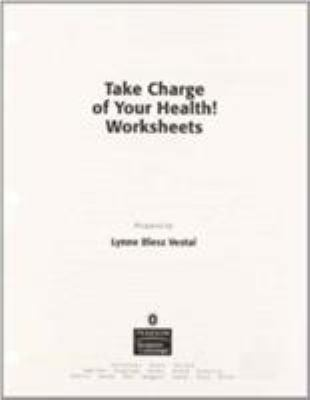 Take Charge of Your Health! Worksheets