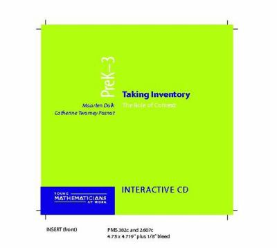 Taking Inventory, Prek-3 (CD): The Role of Context 9780325006772