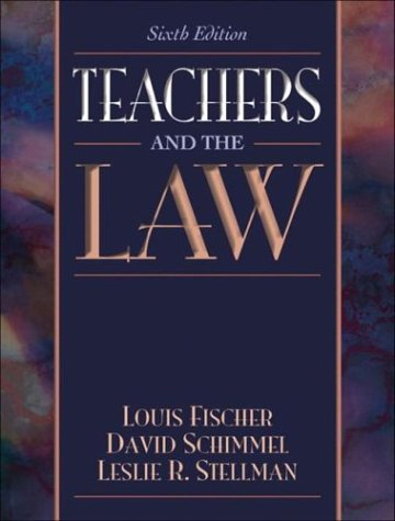 Teachers and the Law 9780321082107