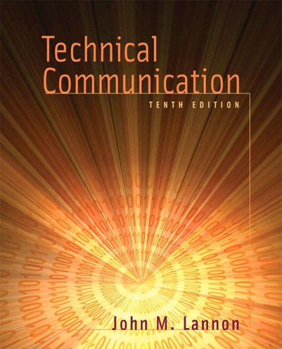 Technical Communication 9780321270764