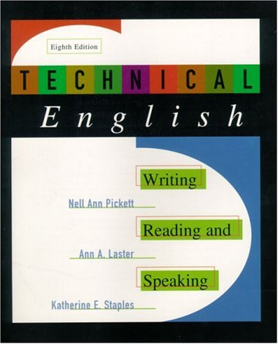 Technical English: Writing, Reading and Speaking 9780321003522