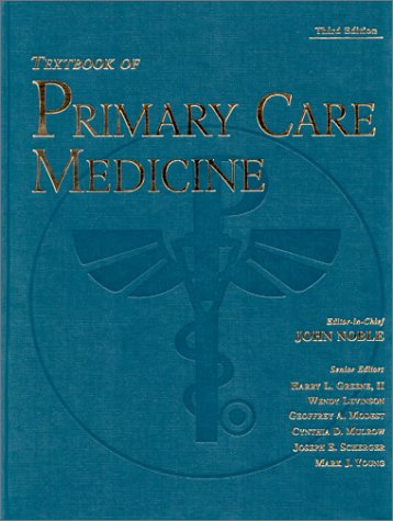 Textbook of Primary Care Medicine 9780323008280