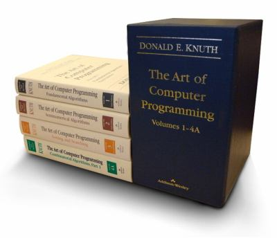 The Art of Computer Programming, Volumes 1-4a Boxed Set 9780321751041
