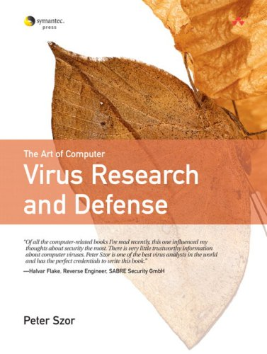The Art of Computer Virus Research and Defense 9780321304544