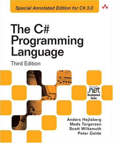 The C# Programming Language 9780321562999
