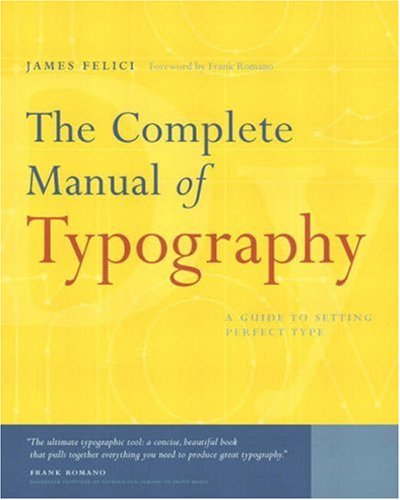The Complete Manual of Typography 9780321127303