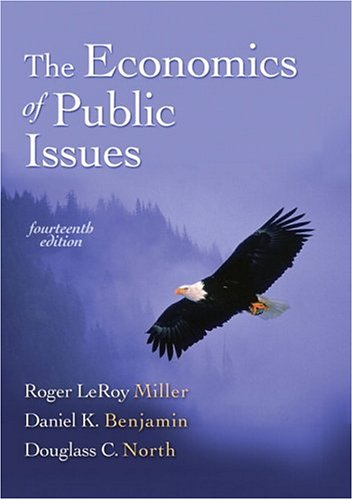The Economics of Public Issues 9780321303493