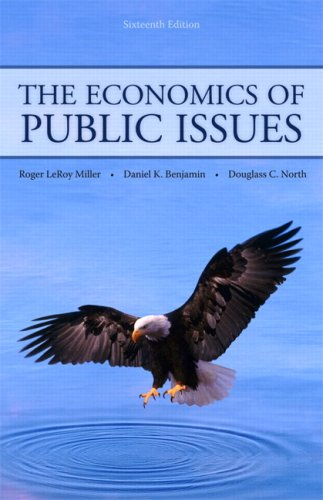 The Economics of Public Issues 9780321594556