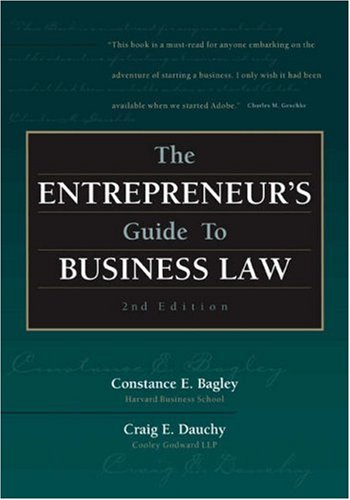 The Entrepreneur's Guide to Business Law - 2nd Edition