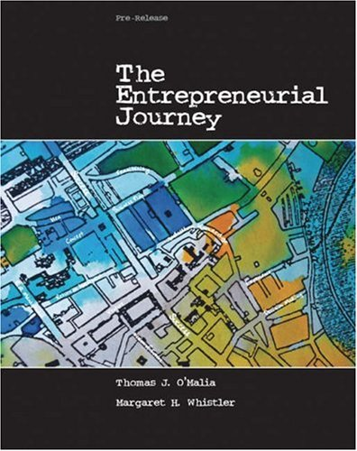 The Entrepreneurial Journey, Pre-Release 9780324176889