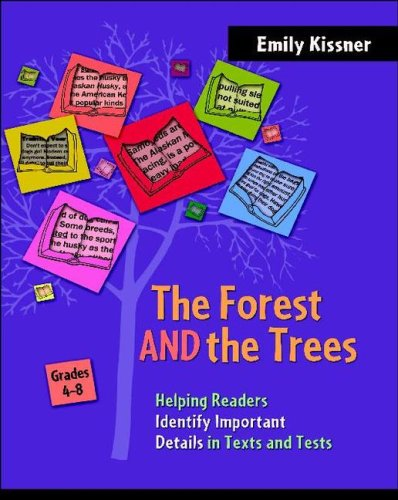 The Forest and the Trees: Helping Readers Identify Important Details in Texts and Tests, Grades 4-8 9780325011950