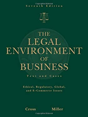 the legal environment of business business Legal environment of business: online commerce, ethics, and global issues, student value edition (8th edition) [henry r cheeseman] on amazoncom free shipping on.