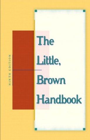 The Little, Brown Handbook 9780321103505