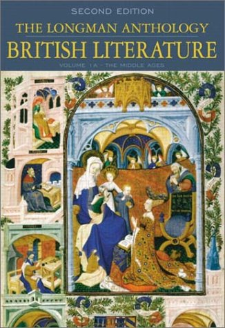 The Longman Anthology of British Literature, Volume 1a: The Middle Ages 9780321106674
