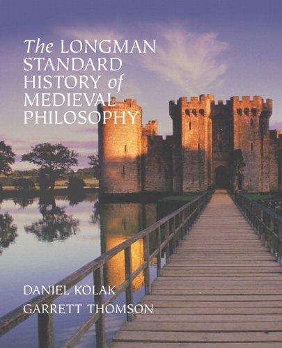 The Longman Standard History of Medieval Philosophy 9780321235145