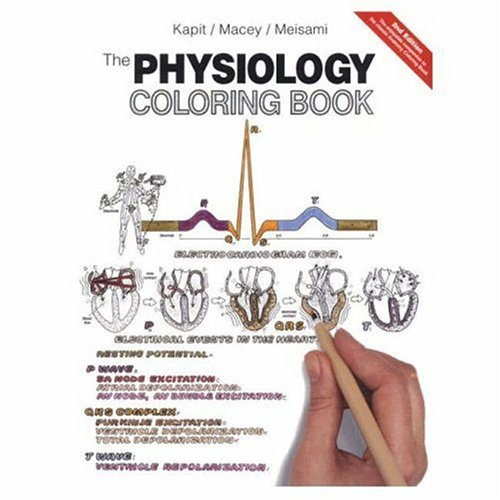 the physiology coloring book - Geography Coloring Book