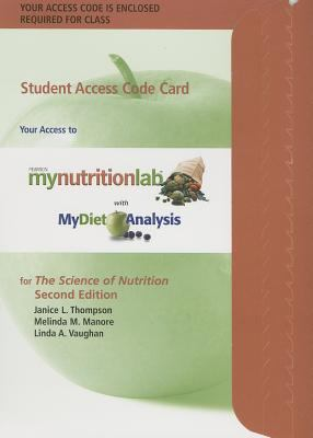 The Science of Nutrition Student Access Code Card 9780321775108