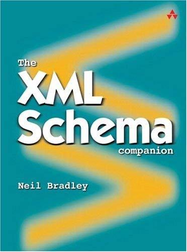 The XML Schema Companion 9780321136176
