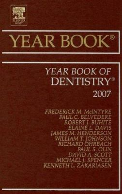 The Year Book of Dentistry 9780323046657