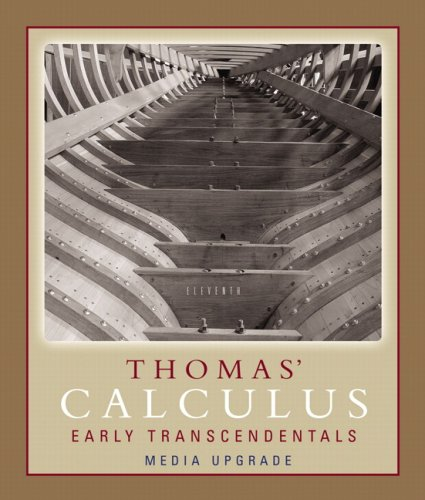 Thomas' Calculus Early Transcendentals 9780321495754