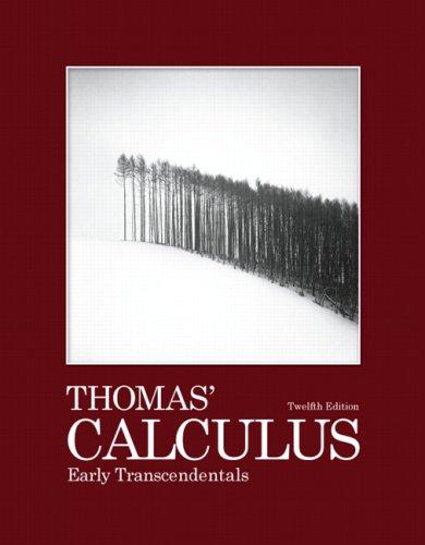 Thomas' Calculus 9780321588760