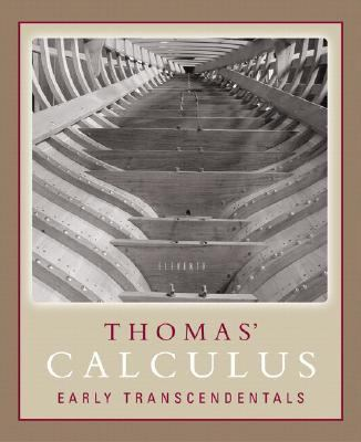 Thomas' Calculus Early Transcendentals Part One (Single Variable, CHS. 1-11) Paperback Version 9780321441980