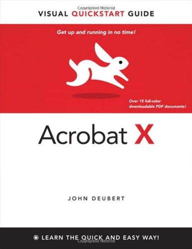Acrobat X 9780321743756