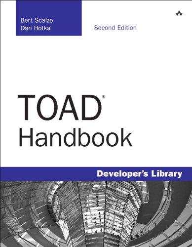 Toad Handbook 9780321649102