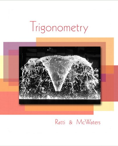 Trigonometry 9780321567987
