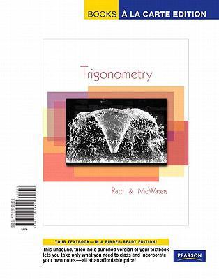 Trigonometry, Books a la Carte Edition 9780321656414