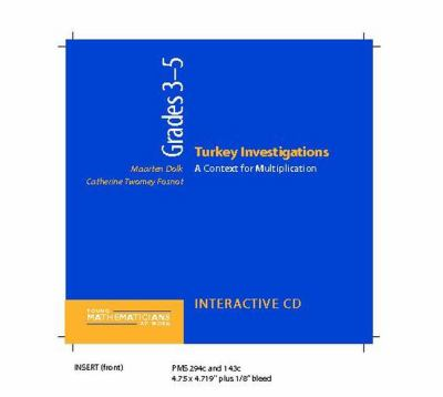Turkey Investigations, Grades 3-5 (CD): A Context for Multiplication 9780325007731