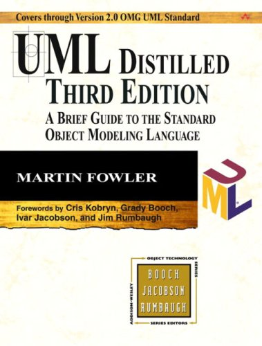 UML Distilled: A Brief Guide to the Standard Object Modeling Language 9780321193681