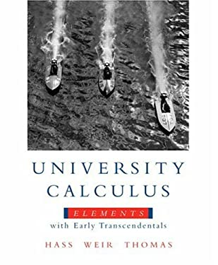 University Calculus: Elements with Early Transcendentals 9780321533487