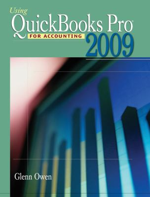 Using QuickBooks Pro 2009 for Accounting [With CDROM]