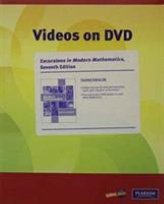 Videos on DVD with Optional Subtitles for Excursions in Modern Mathematics
