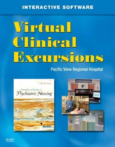 Virtual Clinical Excursions 3.0 for Principles and Practice of Psychiatric Nursing 9780323057653