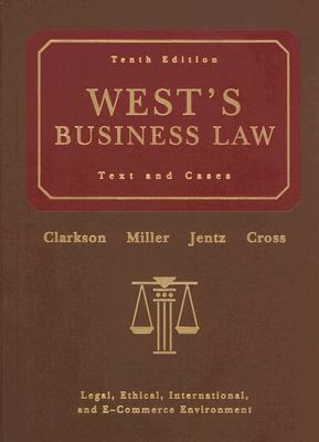 West's Business Law [With Online Legal Research Guide] 9780324303902