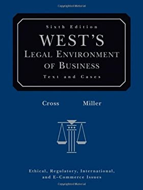 West's Legal Environment of Business with Online Business Guide 9780324303919