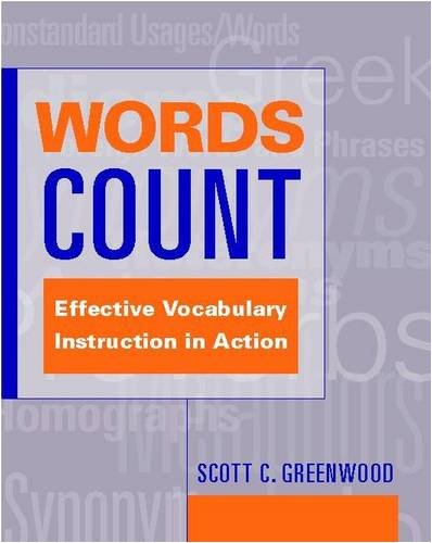Words Count: Effective Vocabulary Instruction in Action 9780325006482