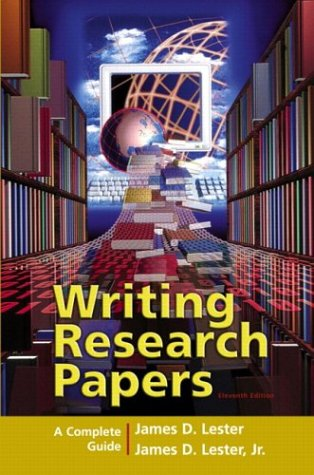 Writing Research Papers: A Complete Guide (Perfect-Bound) 9780321236463
