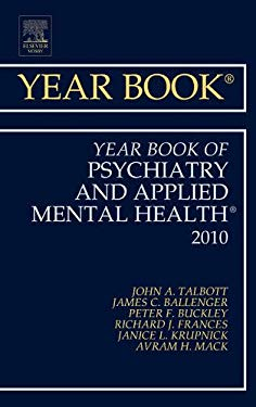 The Year Book of Psychiatry and Applied Mental Health 9780323068444