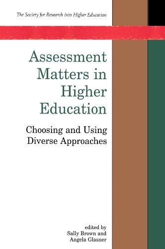 Assessment Matters in Higher Education 9780335202423