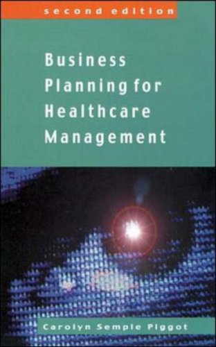 Business Planing for Healthcare Management 9780335206476