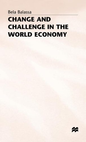 Change and Challenge in the World Economy 9780333391976
