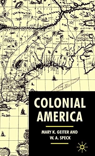 Colonial America: From Jamestown to Yorktown 9780333790557