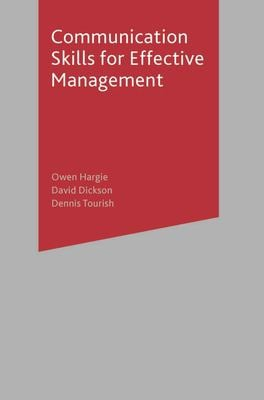 Communication Skills for Effective Management 9780333965757