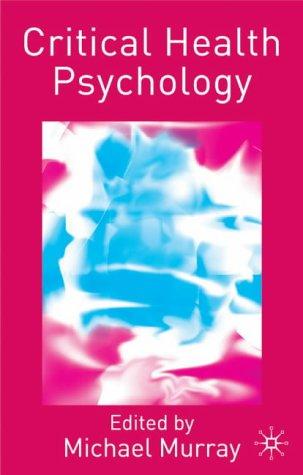 Critical Health Psychology 9780333990346