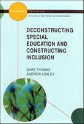 Deconstructing Special Education 9780335204489